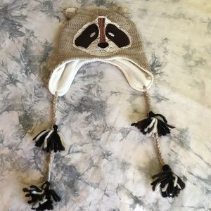 95f06725f11df Claire s Accessories - Cute Raccoon Hat!